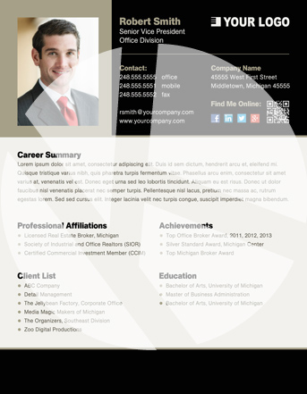 professional profile templates