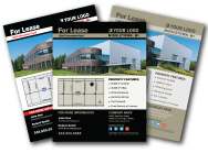 Commercial Real Estate Flyer from Template